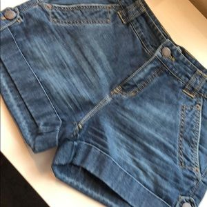 London Jean High waisted shorts